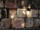 Chichen-itza Majowie Ściana czaszek