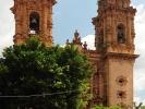 Taxco Srebrne miasto Kosciol Santa Prisca