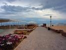Z hotelu nad jeziorem Issyk-Kul - ciepla woda