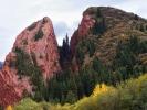 """Dolina Djety Oguz - skała """"Pęknięte serce"""""""