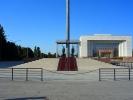 Biszkek - Plac Centralny Ala Too warta przed flagą