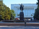 Biszkek - ostatni pomnik Lenina w centralne azji