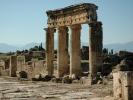 Hierapolis kolumnada przy głównej ulicy