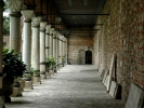 Podcienie kuchni pałac Istanbuł
