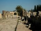 Hierapolis główna ulica od tyłu