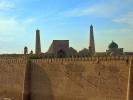 Chiwa Wewnętrzne Miasto - Iczan Kala – cytadela z murów obronnych