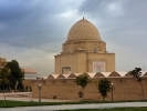 Samarkanda przy pomniku Tamerlana - Timura