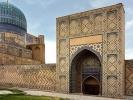 Samarkanda meczet Bibi Khanum największy meczet islamu