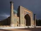 pl Registan medresa i mauzoleum Gur-e Amir 1404 r
