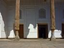 Cytadela Ark V w najstarszym zabytkiem. W 1920 zbombardowana przez bolszewików i doszczętnie zniszczona Ostat emirem był Alim Khan(1880-1944), uciekł do Afganistanu
