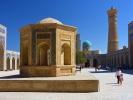 Buchara kompleks Kalon XII w- meczet Kalon i minaret